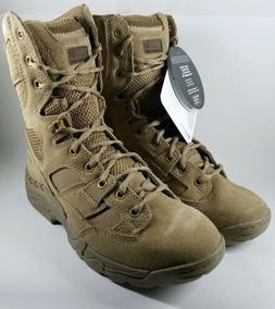 "5.11 Tactical Taclite 8"" Duty Boots Coyote Tan Suede Men's 8"