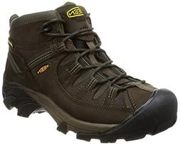 KEEN Men's Targhee II Hiking Shoe,  Canteen/Dark Olive - 10