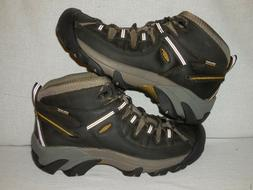 Keen Targhee II Mid WP  Hiking Boot  BLACK OLIVE/ YELLOW  ME