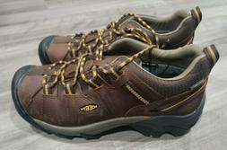 Keen Targhee II WP Hiking Shoe CasecadeBrown/GoldenYellow Me