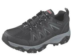 Skechers Terrabite Trail Men's Shoes Black Hiking Boots Memo
