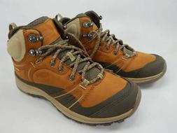 KEEN Terradora Leather Mid Waterproof Hiking Boots Womens Si
