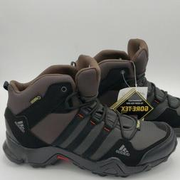 Adidas Terrex AX2 MID GTX Gore-Tex Hiking Boots Brown Black