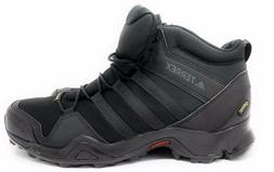 adidas Outdoor Men Terrex Ax2R Mid GTX Running Shoe, Black,