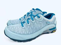 AHNU Teva Sugarpine II Air Mesh Hiking Shoes Gray Teal Women