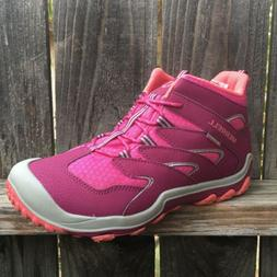 Merrell Toddler Girls Hiking Boots Shoes 12 Chameleon Waterp