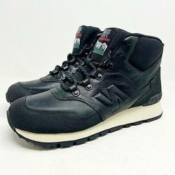 New Balance Trail 755 Hiking Black Boots Mens Sneakers Size