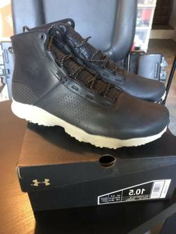 UA Under Armour Speedfit Hike Mens Leather Mid Boots Size 10