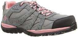 Columbia Unisex Youth Redmond Hiking Boot, Steam, Rosewater,