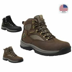 US Men's Waterproof Advanced Hiking Boots Mid Ankle Leather