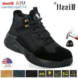 US Men Work Safety Shoes Steel Toe Cap Bulletproof Boots Ind