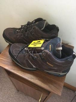 Skechers USA Mens Bomags Calder Lace-up Boot- 12 M BROWN