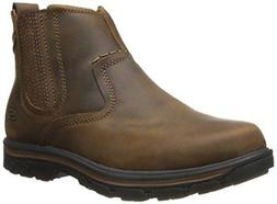 Skechers USA Men's Segment-Dorton Chukka Boot,Dark Brown,11