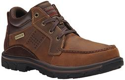 Skechers Men's Segment Melego Chukka Boot, Dark Brown, 10.5