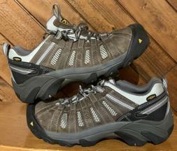 Keen Utility Flint Low Brown Leather Steel Toe Work Boots Me