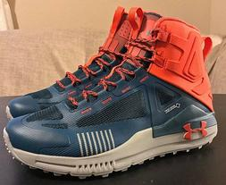 Under Armour Verge 2.0 Mid GTX Teal Orange Hiking Boots - Me