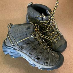 KEEN Voyageur Mid Hiking Boot - Men's Raven/Tawny Olive, 12.