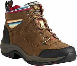 Ariat Women's Terrain Work Boot, Walnut/Serape