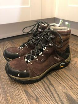 AHNU Waterproof Lace Up Ankle Boot eVent Montara Vibram Sole