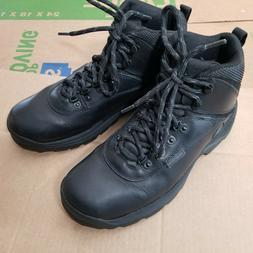 Timberland White Ledge Waterproof Mid Hiker Black Boots Shoe