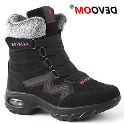 Winter Outdoor Women Hiking Shoes Warm Snow Ankle <font><b>B