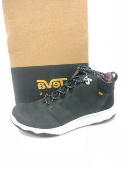 Teva Women's Arrowood Lux Mid WP Wateproof Black Leather Hik