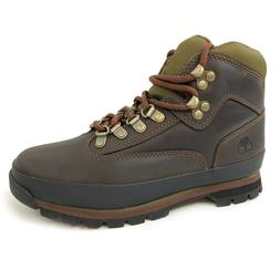 Timberland Women's Euro Hiker Brown Leather Hiking Boots 836