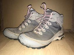 Women's Teva Gray Ahnu Sugarpine II Waterproof Hiking Boots