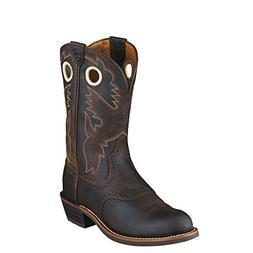 Ariat Women's Heritage Roughstock Western Boot, Antique Brow