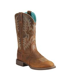 Ariat Women's Heritage Stockman Western Boot, Sassy Brown, 9