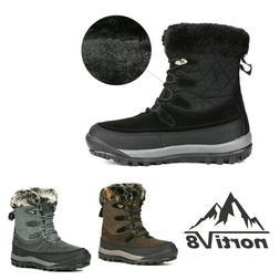 NORTIV 8 Women insulation Waterproof Ankle Winter Warm Outdo
