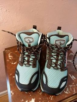 Altra Women's Lone Peak 3.0 Mid Neoshell Blue Hiking Boots S