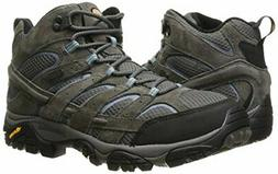 Merrell Women's Moab 2 Mid Waterproof Hiking Trail Boots, Gr