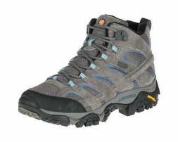 Merrell Women's Moab 2 Mid Waterproof Hiking Boot Granite