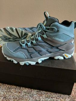 Women's Merrell Moab FST 2 Mid Waterproof Hiking Boots 8.5
