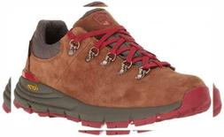 """Danner Women's Mountain 600 Low 3"""" Brown/Red Hiking Boot"""