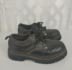 Skechers Women's Size 7 Brown Leather Low Ankle Hiking Boots