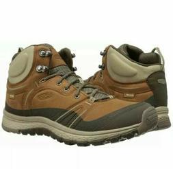 KEEN Women's Terradora Leather Waterproof Mid Hiking Boots S
