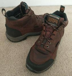 Women's Ariat Terrain Waterproof Leather Hiking Boots Size 6