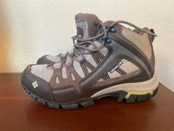 Womens Contour Comfort Columbia Omni-grip Hiking Boots Brown