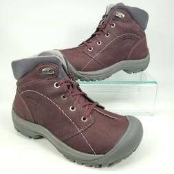 Keen Womens Kaci Winter Mid WP Suede Hiking Boots Women Size