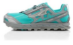 Altra Womens Lone Peak 4 Low Mesh Running shoe: Teal/Grey: U