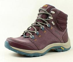 Ahnu Womens Montara Iii Deep Wine Hiking Boots Size 7.5
