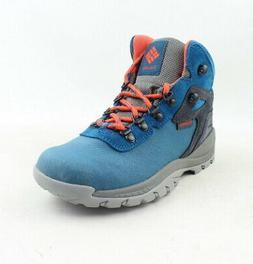 Columbia Womens Newton Ridge Blue Hiking Boots Size 6