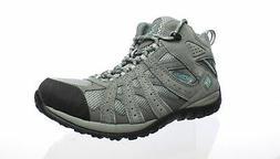 Columbia Womens Redmond Light Grey, Sky Blue Hiking Boots Si