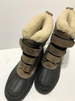 Women's Size 10 New Suede Hiking Boots By L L Bean