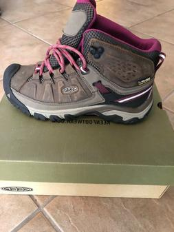 Women's Keen Targhee III Mid Waterproof Leather Hiking Tra