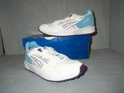 Womens ASICS Tiger Gel-Saga White Sizes! New NIB Leather Sue