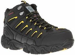 Skechers for Work Men's Blais-Bixford-M Hiking Boot,Black/Ye