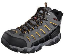 Skechers for Work Men's Blais-Bixford Steel Toe Hiking Shoes